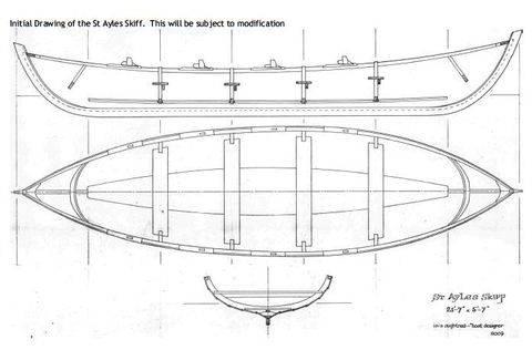 Plan St-Ayles-skiff