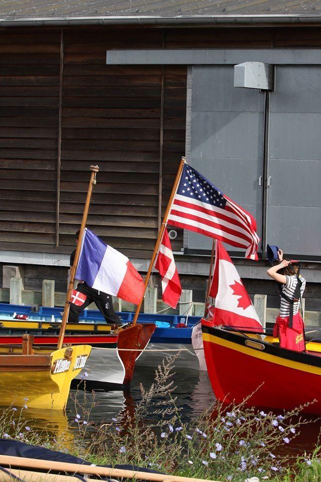 Yole Française , Américaine ,Canadienne et Belge